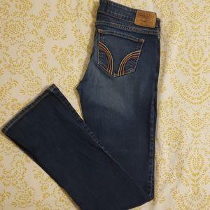 Hollister Bootcut Medium Wash Jeans sz 27 5 Short